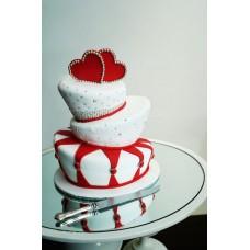 """Торт на День Святого Валентина """"Сердца: Вместе навсегда"""""""