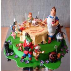 """Детский торт """"В гостях у сказки"""""""