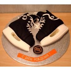 """Детский торт """"Хоккейные коньки"""""""
