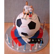 """Детский торт """"Футбольный мяч"""""""