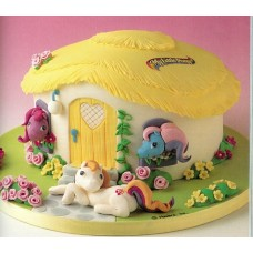 """Детский торт """"Домик для пони"""""""
