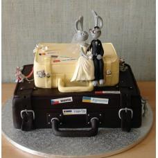 Свадебный торт №75