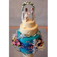 """Свадебный торт """"У алтаря"""""""