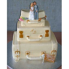 """Свадебный торт """"Свадебное путешествие"""""""