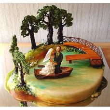 Свадебный торт №91