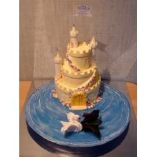 """Свадебный торт """"Два лебедя"""""""