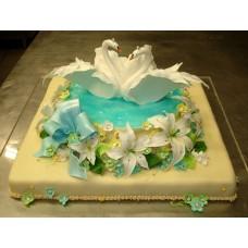 Свадебный торт №18