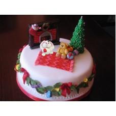 """Торт """"Ночь перед Рождеством"""""""