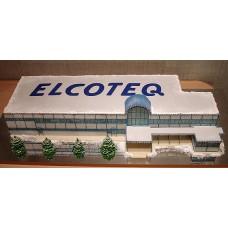 """Торт """"Новый год в ELCOTEQ"""""""