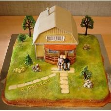 """Торт """"Дачный домик"""""""