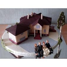 """Торт """"Коттедж для большой семьи"""""""