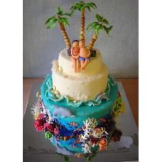 """Торт """"У самого Синего моря"""""""