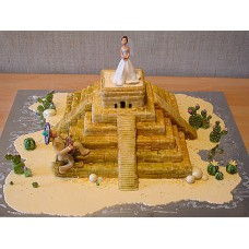 """Торт """"Пирамида"""""""
