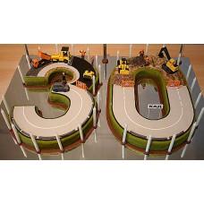 """Торт для компании """"Строим 30 лет"""""""