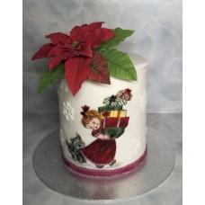 """Новогодний торт """"Рождественское утро"""""""