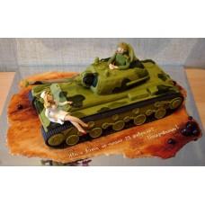 "Торт ""Боевая машина"""
