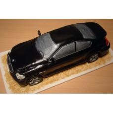 """Торт """"Черный BMW X6"""""""