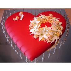 """Торт """"Ангельское сердце"""""""