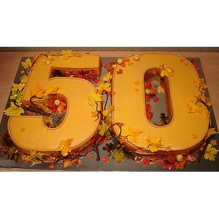 """Торт """"50 лет"""""""