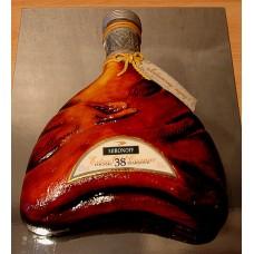"""Торт """"Бутылка Реми Мартин"""""""