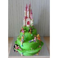 """Детский торт """"Winx Замок"""""""