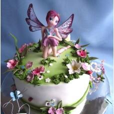 """Детский торт """"Winx на полянке"""""""