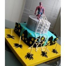 """Детский торт """"Человек-Паук ( Spider-Man)"""""""