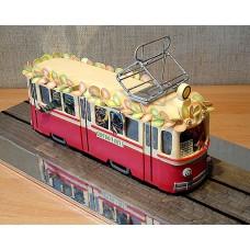 """Детский торт """"Трамвайчик"""""""