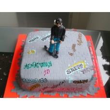 """Детский торт """"Графитти"""""""