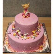 """Детский торт """"1 годик!"""""""