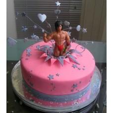 """Эротический торт """"Подарок на девишник"""""""