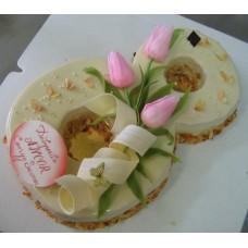 """Торт  """"8 марта"""""""