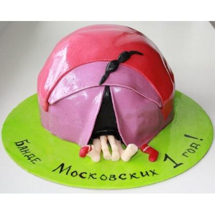 """Свадебный торт """"Банде 1 год"""""""