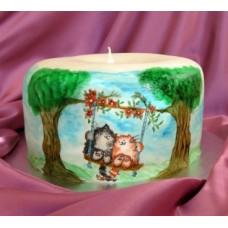 """Свадебный торт """"Восковая свеча"""""""