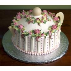 """Свадебный торт """"Фарфоровый чайник"""""""