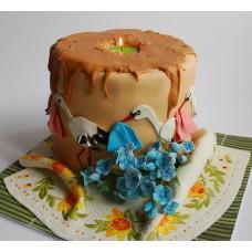 """Торт на свадьбу """"На Восковую годовщину свадьбы"""""""