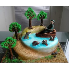 "Торт ""Рыбак"""