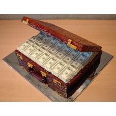 """Торт """"Чемодан с деньгами"""""""