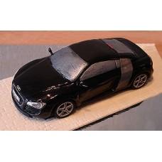 """Торт """"Черный Audi R8"""""""