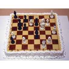 """Торт """"Игра в шахматы"""""""