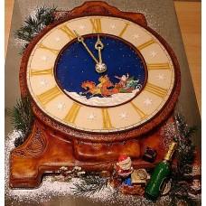 """Торт """"Когда часы двенадцать бьют"""""""