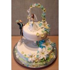 Свадебный торт №35