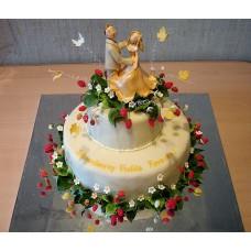 Свадебный торт №36