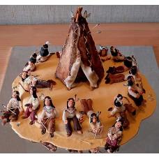 """Торт """"Индейцы на привале"""""""