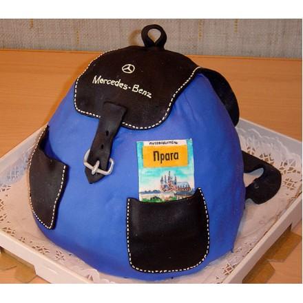 """Торт """"Рюкзак путешественника"""""""