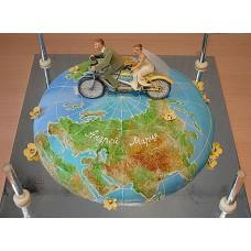"""Торт """"Тандем-велосипед"""""""