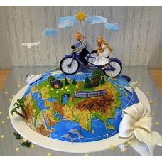 """Торт """"Кругосветное путешествие"""""""