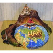 """Торт """"Медитация в Тибете"""""""