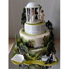 """Свадебный торт """"Купол бракосочетания"""""""