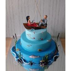 Свадебный торт №96
